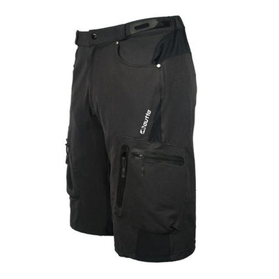 Outlet Appeal Black / M Men's Breathable Loose Fit Cycling Shorts MTB Mountain Bike
