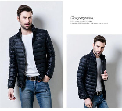 Outlet Appeal Black / S / China Mens Autumn Winter Duck Down Jacket