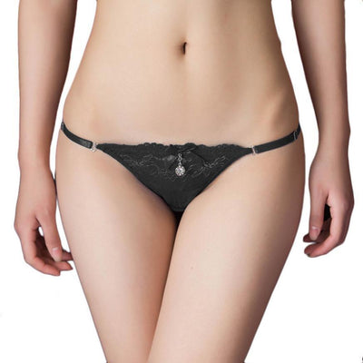 Outlet Appeal Black Underwear Women Panties 2016 Hot Sexy Thongs G-string T-back Lingerie Underwear #LYW