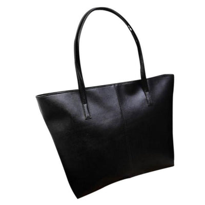 Outlet Appeal Black Women Bag Fashion Handbag Lady Shoulder Bag Women Tote Purse Leather Ladies Messenger Bags