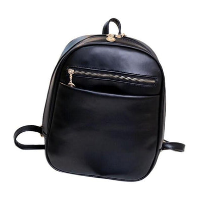 Outlet Appeal Black Women Bag Fashion leather Backpacks Mochila Feminina Bag Mochila Escolar Backpacks Rucksack