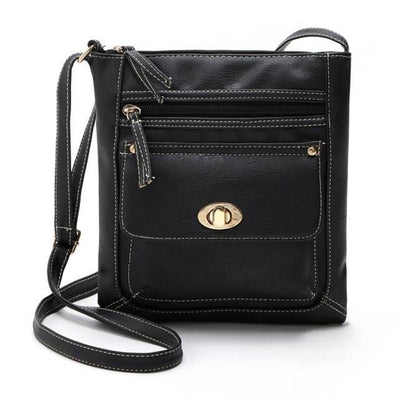 Outlet Appeal Black Women Bag Leather Satchel Cross Body Shoulder Handbags Women Messenger Bag