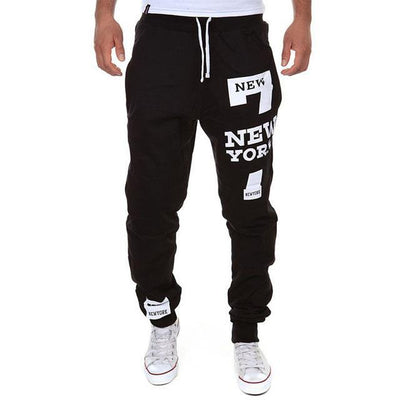 Outlet Appeal Black / XXL M-3XL Men's Jogger Sportwear Baggy Casual Pants Trousers Sweatpants Dulcet
