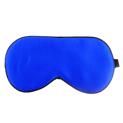 Outlet Appeal blue 100% Natural Silk Sleeping Eye Mask Eye Shade Sleep Mask on Eyes for Sleeping