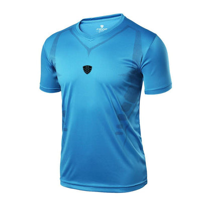 Outlet Appeal Blue / M Man Workout Fitness Sports Gym Running Yoga Athletic Shirt Top