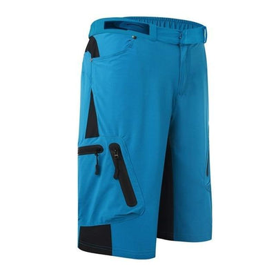 Outlet Appeal Blue / M Men's Breathable Loose Fit Cycling Shorts MTB Mountain Bike