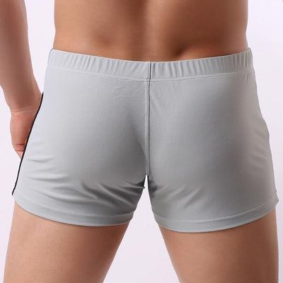 Men's Low-Waist Lift Pouch Mesh Breathable Boxers Underwear
