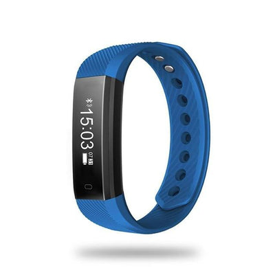 Outlet Appeal Blue TLWD2 Waterproof Smart Bluetooth 4.0 Wristband 0.86 Inch OLED Touch Sleep Step Counting