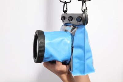 Outlet Appeal Blue Universal Underwater Diving Camera Case GQ-518M