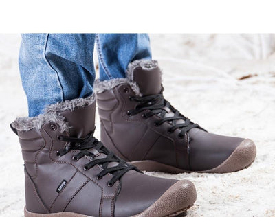 Plush Warm Slip Resistant Winter Boots