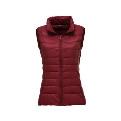 Outlet Appeal Burgundy / XXL / China Women Fashion Duck Down Jacket