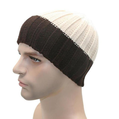 Outlet Appeal C / One Size 1PC Winter Unisex Women Men Knit Ski Hat For Outdoor Sport#FC26