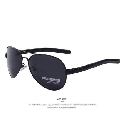 Outlet Appeal C01 Black Black MERRY'S Fashion Men Polarized Sunglasses Brand Design Sunglasses Oculos de sol UV400