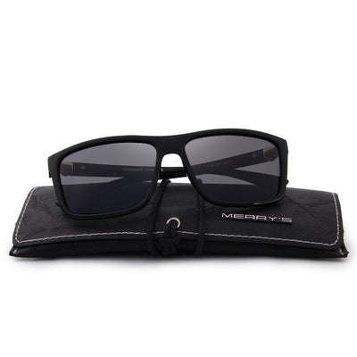 Outlet Appeal C01 Black MERRY'S DESIGN Men Polarized Sunglasses Fashion Male Eyewear 100% UV Protection S'8225
