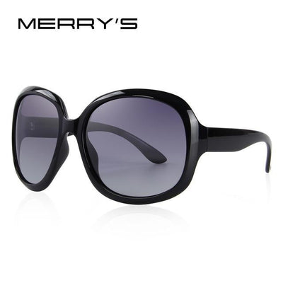 Outlet Appeal C01 Black MERRY'S DESIGN Women Retro Polarized Sunglasses Lady Driving Sun Glasses 100% UV Protection S'6036