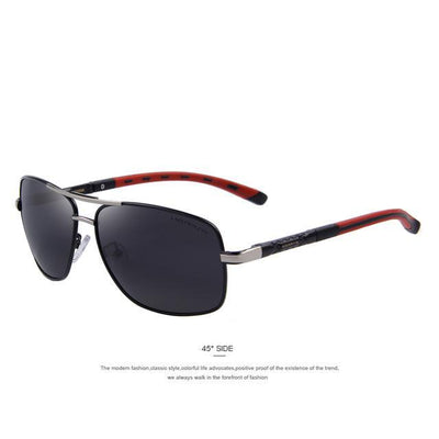 Outlet Appeal C01 Black MERRY'S Men Aluminum Polarized Sunglasses EMI Defending Coating Lens Classic Brand S'8714
