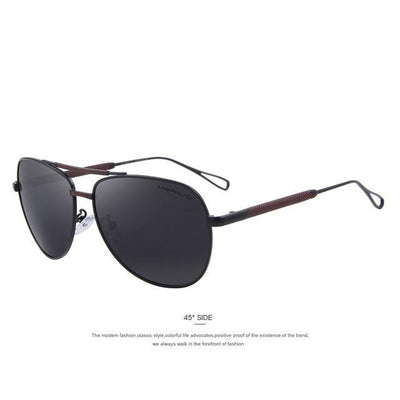 Outlet Appeal C01 Black MERRY'S Men Classic Aviation Sun glasses HD Polarized Luxury Aluminum Driving Sun glasses S'8718