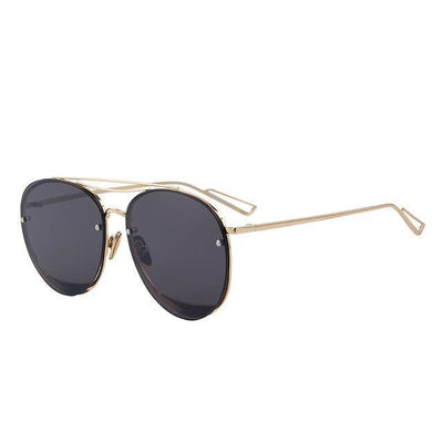 Outlet Appeal C01 Black MERRY'S Women Classic Designer Rimless Sunglasses Twin Beam Metal Frame Sun Glasses S'8096