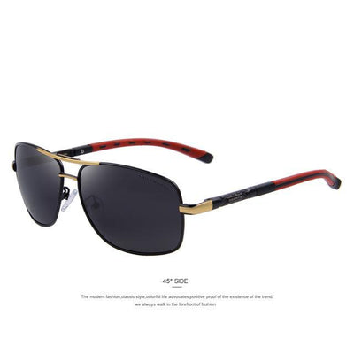 Outlet Appeal C02 Gold MERRY'S Men Aluminum Polarized Sunglasses EMI Defending Coating Lens Classic Brand S'8714