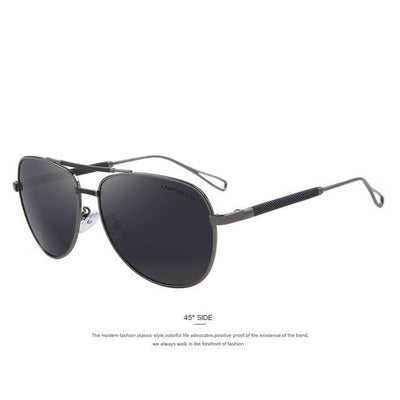 Outlet Appeal C02 Gray MERRY'S Men Classic Aviation Sun glasses HD Polarized Luxury Aluminum Driving Sun glasses S'8718