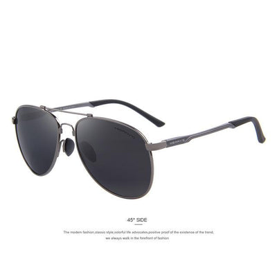Outlet Appeal C02 Gray MERRY'S Men Classic Brand Aviation Sunglasses Polarized Aluminum TR90 Titanium Bridge S8716