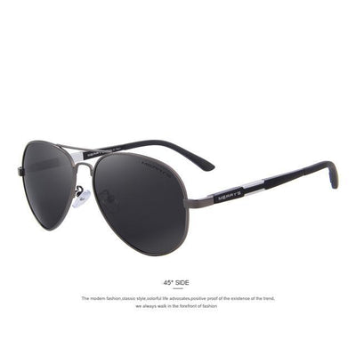 Outlet Appeal C02 Gray MERRY'S Men HD Polarized Sunglasses Aluminum Magnesium Men's Classic Brand S'8285