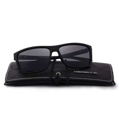Outlet Appeal C02 Matte black MERRY'S DESIGN Men Polarized Sunglasses Fashion Male Eyewear 100% UV Protection S'8225