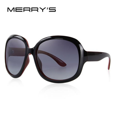 Outlet Appeal C02 Wine Red MERRY'S DESIGN Women Retro Polarized Sunglasses Lady Driving Sun Glasses 100% UV Protection S'6036
