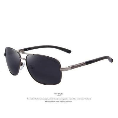 Outlet Appeal C03 Gray MERRY'S Men Aluminum Polarized Sunglasses EMI Defending Coating Lens Classic Brand S'8714