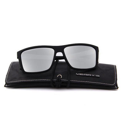 Outlet Appeal C03 Silver MERRY'S DESIGN Men Polarized Sunglasses Fashion Male Eyewear 100% UV Protection S'8225