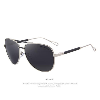 Outlet Appeal C03 Silver MERRY'S Men Classic Aviation Sun glasses HD Polarized Luxury Aluminum Driving Sun glasses S'8718