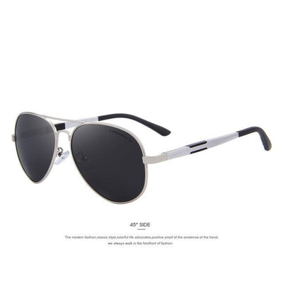 Outlet Appeal C03 Silver MERRY'S Men HD Polarized Sunglasses Aluminum Magnesium Men's Classic Brand S'8285