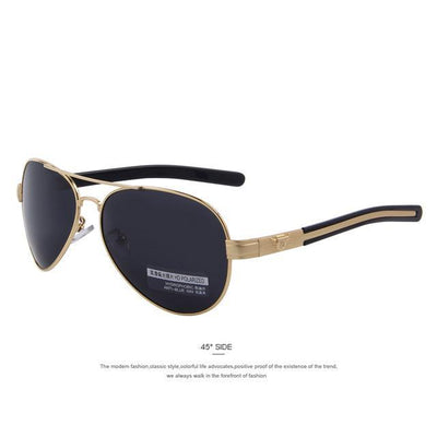 Outlet Appeal C04 Gold Black MERRY'S Fashion Men Polarized Sunglasses Brand Design Sunglasses Oculos de sol UV400