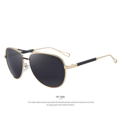 Outlet Appeal C04 Gold MERRY'S Men Classic Aviation Sun glasses HD Polarized Luxury Aluminum Driving Sun glasses S'8718