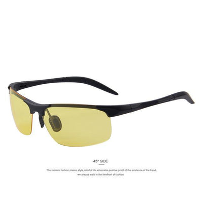 Outlet Appeal C06 Yellow MERRY'S 100% Polarized Driver Driving Sunglasses TR90 Ultra Lightweight Sunglasses