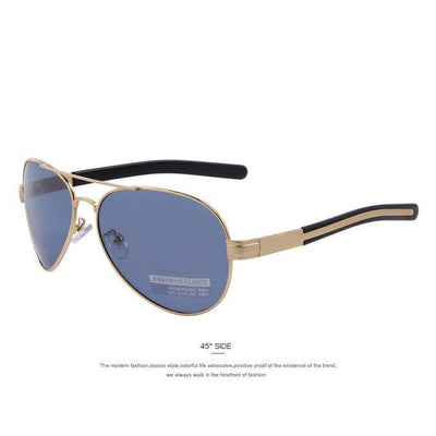 Outlet Appeal C08 Gold Blue MERRY'S Fashion Men Polarized Sunglasses Brand Design Sunglasses Oculos de sol UV400
