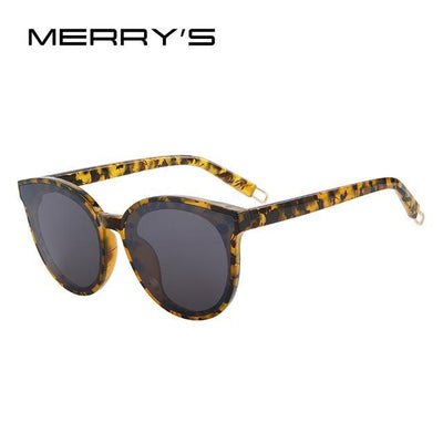 Outlet Appeal C09 Leopard MERRY'S Women Classic Brand Designer Cat Eye Sunglasses S'8094