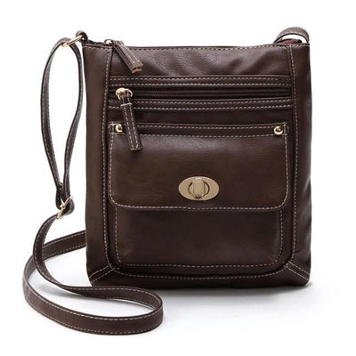 Outlet Appeal Coffee Women Bag Leather Satchel Cross Body Shoulder Handbags Women Messenger Bag