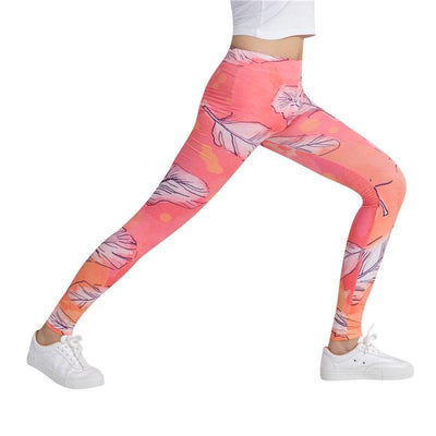 Outlet Appeal Colorful Traingles Printed Women Leggings Sexy Female Leggings  Mujer Pants Fitness High Elastic Bodybuilding Trouser WAIBO BEAR
