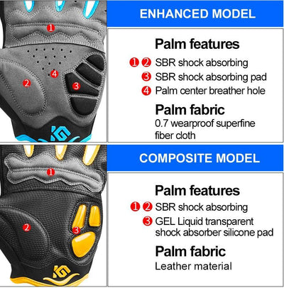 Outlet Appeal Cycling Bike Gloves Touch Screen Shockproof MTB Road Bike