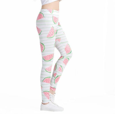 Outlet Appeal DDK250 / One Size Colorful Traingles Printed Women Leggings Sexy Female Leggings  Mujer Pants Fitness High Elastic Bodybuilding Trouser WAIBO BEAR