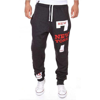 Outlet Appeal Deep gray / XXL M-3XL Men's Jogger Sportwear Baggy Casual Pants Trousers Sweatpants Dulcet