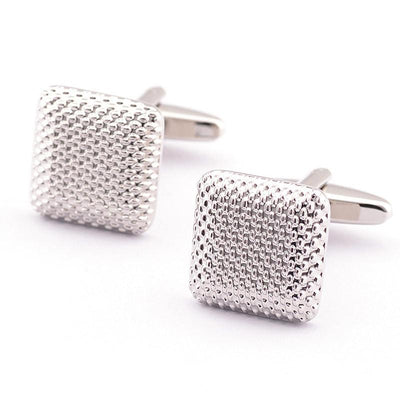 Outlet Appeal Default Title New Gentleman Men Wedding Party Gift Silver Color Cuff Link Cufflinks