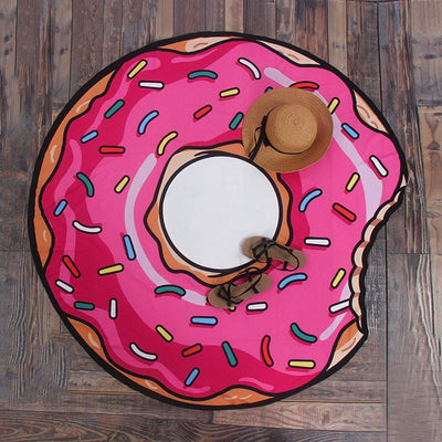 Outlet Appeal Donut / Chiffon Yoga Mat Beach Towels