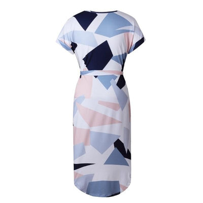 Outlet Appeal dress V-Neck Printed Dress