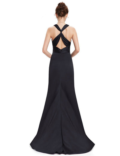 Outlet Appeal Evening Dresses Ever-Pretty Elegant V Neck Long Formal Special Occasions