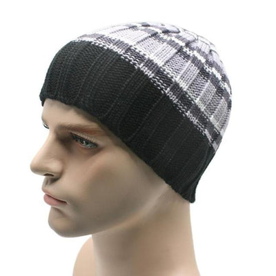 Outlet Appeal F / One Size 1PC Winter Unisex Women Men Knit Ski Hat For Outdoor Sport#FC26