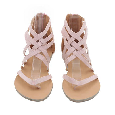 Outlet Appeal Flats Sandals European Rome Gladiator Style