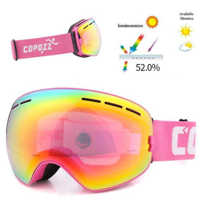 Outlet Appeal Frame Pink / China Pro Ski Mask Snowboard Goggles Double Layer UV400 Anti-fog