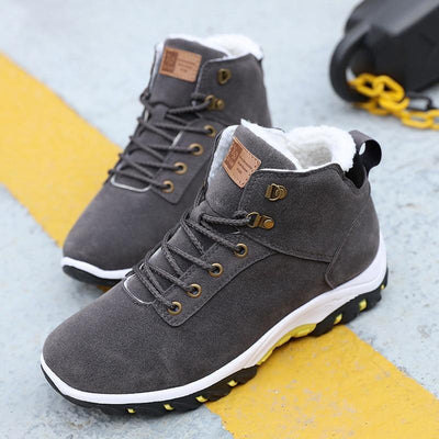 Slip Resistant Warm Ankle Boots